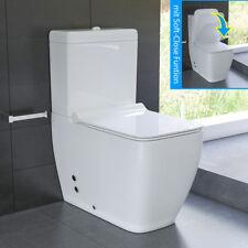 Komplett WC Set mit Spülkasten Stand-WC GEBERIT Spülgarnitur Duroplast WC-Sitz