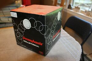 C. 1960's Pennsylvania General Rubber volleyball (unused in original box)