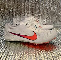 Nike Zoom Victory 3 Track & Field Spikes Shoes 835997-100 Men's Size 7
