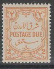 TRANSJORDAN SGD231 1942 2m ORANGE-YELLOW MNH