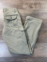 Kuhl Women's Pants Straight Leg Hiking Outdoors Active SOFT Khaki Tan Size 2 Reg