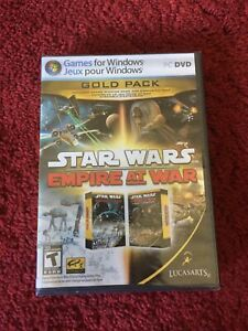Star Wars - Empire At War Gold Pack PC DVD Computer Video Game Brand New