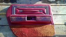 Red Interior Door Panels Parts For Lincoln Town Car Ebay