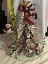 Home Interiors & Gifts Christmas Card Holder - Metal
