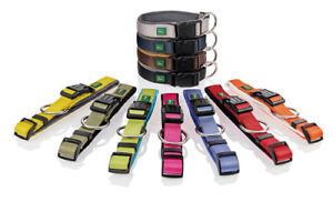 Hunter neoprene vario collars, various sizes and colours