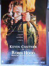 CARTEL POSTER CINE ANTIGUO: ROBIN HOOD, PRINCIPE DE LOS LADRONES. KEVIN COSTNER