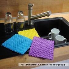 9 x Spültücher Microfaser Schwammtuch Mikrofaser Schwammtücher Spültuch Tücher