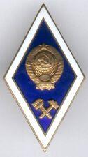 1 orig. Akademieabz./Absolventenabz. Bergbau/Ingenieurwesen der UDSSR, I/II