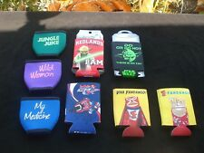 New listing Various Can Cooler Sleeves (8)