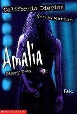 Amalia, Diary Two (California Diaries, No. 9)