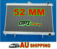 52MM GPI SUPER COOLING NEW aluminum radiator for Nissan S13 CA18DET CA18