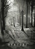 Les Escaliers de Montmartre, Paris - Brassai Art Print France Photo Poster 20x28