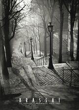 BRASSAI: Les Escaliers de Montmartre, Paris PHOTO ART PRINT 20x28 France Poster