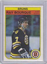 82-83 OPC O-Pee-Chee Ray Bourque #7 (3rd Year) Near Mint (Boston Bruins)