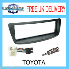 CT24TY18 TOYOTA AYGO 2005 > BLACK FASCIA FACIA PANEL FITTING PACKAGE KIT T39