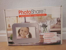 Photo Share 7 Digital Photo Frame With Remote - Excellent in Box!!