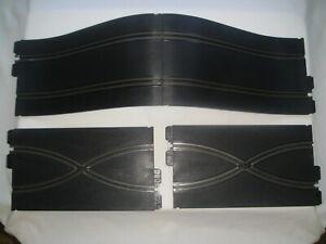 1967 VINTAGE STROMBECKER, 1/32, 2- EA. CROSSOVER TRACKS, 2- EA. HILL TRACKS