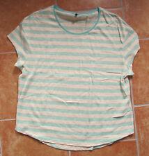 CECIL Sommerpulli Pulli Pullover Shirt kurzarm Gr. XL mit Leinen NEUWERTIG