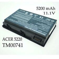 New Battery TM00741 for ACER Extensa 5230E 5235 5620G 5630EZ 5630Z 5630ZG 7620Z