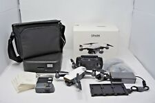 DJI Spark Fly More Combo Camera Drone - Alpine White - 2 Batteries, Hub, & Cases