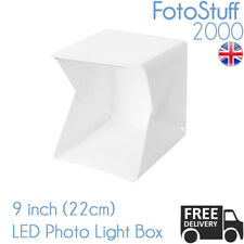 Small Folding 22CM Photo Studio Kit MK 26 Mini Light Box Cube Tent UK Stock