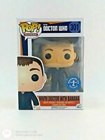 FUNKO POP! TELEVISION: DOCTOR WHO - NINTH DOCTOR (BANANA) #301 *UK STOCK*