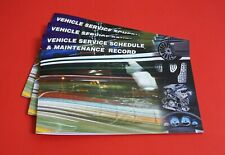 Vehicle Service Book - Blank History Book Maintenance Record Replacement Car Van