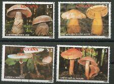 Guyana 2480 - 2483 gestempelt, Pilze