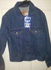 Levis Vintage Clothing jeans jacket size L new