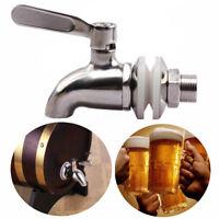 Stainless Steel Faucet Tap for Home Brew Barrel Fermenter Wine Beer Fridge Kegs