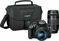 Canon - EOS Rebel T6 DSLR Two Lens Kit with EF-S 18-55mm IS II and EF 75-300mm