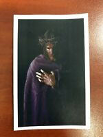 Holy Card Relic of Our Lord Jesus Christ - Purple Robe #JCPR001