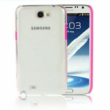 Coque rigide arrière transparente pour Samsung Galaxy Note 2 (N7100 / N7105)