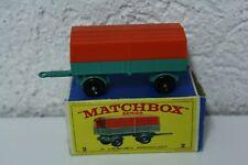 Matchbox Series Lesney Mercedes Anhänger Trailer 2 Vintage Old