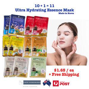 11 Collagen Facial Mask Sheet Skincare Moisture Face Essence Mask Sheet Beauty