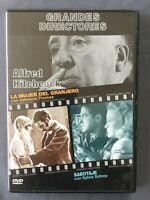 DVD  LA MUJER DEL GRANJERO + SABOTAJE Grandes Directores HITCHCOCK Sylvia Sidney