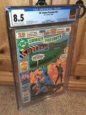 HOT 1980 DC Comics Presents #26 CGC 8.5 Newsstand FIRST Cyborg, Raven & Starfire