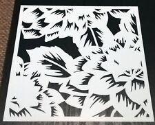 Leaves Mixed Media Stencil Mask Template Leaf Burst BNIP /& Free P/&P