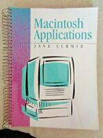 Vintage Apple Macintosh Applications by Jane Schmid Computer Programming 1991