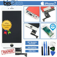 "For iPhone 7 4.7"" LCD Screen Digitizer Touch Display White Replacement Assembly"