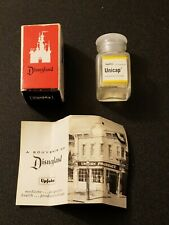 Vintage Disneyland Upjohn Pharmacy Souvenir Unicap Vitamin Bottle Original Box