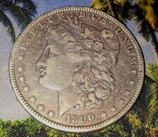 "1890 ""O"" MORGAN SILVER DOLLAR ""SHARP PIECE""                     Free Shipping"
