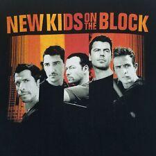 Anvil Men's Black New Kids On The Block NKOTB 2008 Tour T-Shirt Size XXL 2XL
