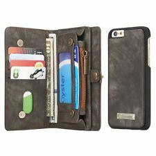 Handy Tasche für iPhone 6 6s CaseMe Schutzhülle Geldbeutel + Etui Hülle Schwarz