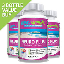 Neuro Plus Brain Function Support – Promotes Focus, Clarity, Energy & Alertness
