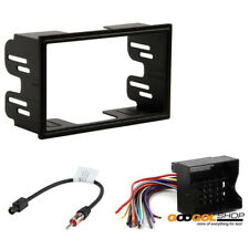 CAR STEREO DASH KIT HARNESS ANTENNA COMPATIBLE WITH VOLKSWAGEN 1999 - 2002 JETTA