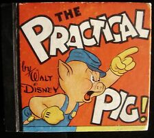 THE PRACTICAL PIG Walt Disney Wolves Fantasy Fairy Tale Fortunetelling Tarot
