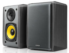 Edifier R1010BT 2.0 Black Bookshelf Speakers Built-in Amp Bluetooth 2x RCA
