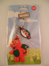 WRU WELSH RUGBY UNION WALES MASCOT ROARY RED DRAGON KEY RING WALES SOUVENIR