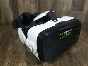 VR Headset Virtual Reality Headset with 120° FOV & Anti-Blue-Light Lens(White)